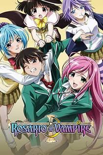 Picture of a TV show: Rosario + Vampire