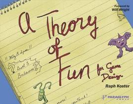 Picture of a book: A Theory Of Fun For Game Design