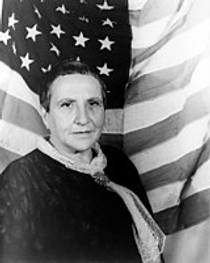 Picture of an author: Gertrude Stein