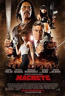 Picture of a movie: Machete