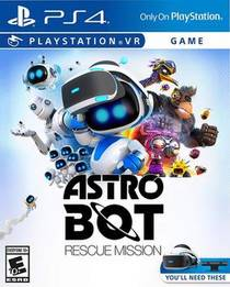 Picture of a game: Astro Bot: Rescue Mission