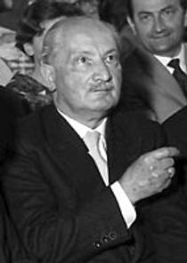 Picture of an author: Martin Heidegger