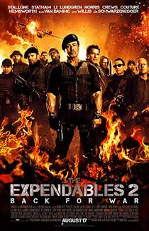 Picture of a movie: The Expendables 2