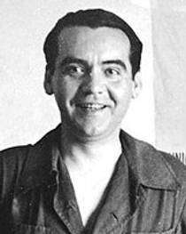 Picture of an author: Federico García Lorca