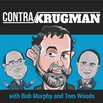 Picture of a podcast: Contra Krugman