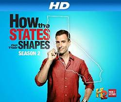 Picture of a TV show: How The States Got Their Shapes