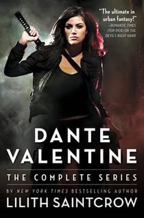 Picture of a book: Dante Valentine: The Complete Series