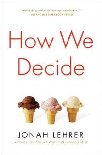 Picture of a book: How We Decide