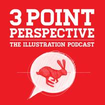 Picture of a podcast: 3 Point Perspective: The Illustration Podcast
