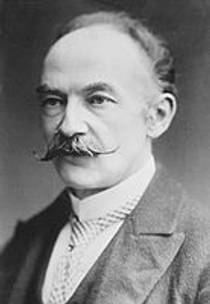 Picture of an author: Thomas Hardy