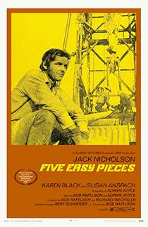 Picture of a movie: Five Easy Pieces