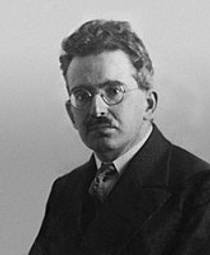 Picture of an author: Walter Benjamin