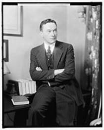 Picture of an author: Walter Lippmann